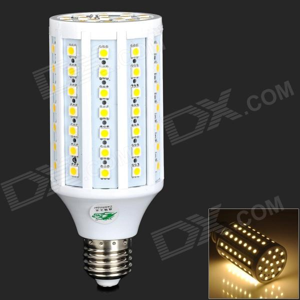 Zweihnder E27 15W 1200lm 3000K 86-SMD 5050 LED Warm White Light Corn Light - White (AC 220~240V) zweihnder e27 15w 1200lm 86 smd 5050 led white light bulb 220 240v
