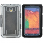 A1014 Protective Waterproof Diving PC + Silicone Case for Samsung Note 2 / 3 - Black + Translucent