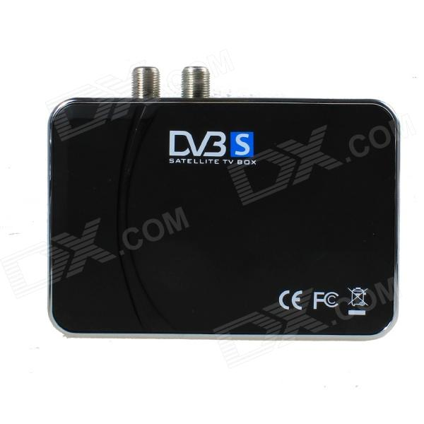 Digital Satellite TV Tuner - Black