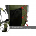 LOCAL LION Outdoor Sports Multifunction Nylon Backpack Bag - Army Green