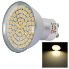 LeXing 4W 300lm GU10 80-SMD 3528 Warm White Light Spotlight (AC 220~240V)