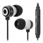 OVLENG iP660 In-Ear Earphone w/ Microphone / Cable Control - Black