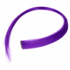 1055-3700L Decorative Hair Slice Extension Wig - Purple