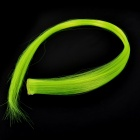 1055-5300 Decorative Hair Slice Extension Wig - Fluorescent Green