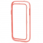 Stylish Protective ABS + Silicone Bumper Frame Case for Samsung 9080 / 9082 - Red + Transparent