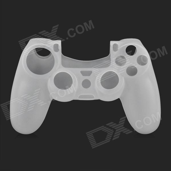 Protective Silicone Case for PS4 Controller - White цена и фото