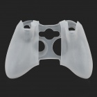 3-in-1 Protective Silicone Case for XBOX 360 / XBOX 360 Slim Controller - White