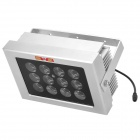 KONG JING Surveillance 24W 850nm 12-IR LED Array Illuminator Light