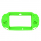 Protective Silicone Bumper Frame for PS Vita 2000 - Green