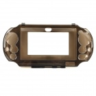 Protective Plastic Case for PS Vita 2000 - Transparent Black