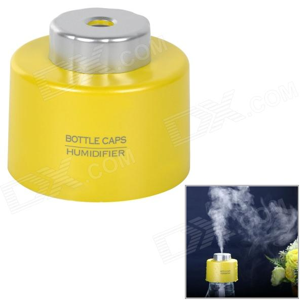 Botella Portable USB Cap humidificador - Amarillo