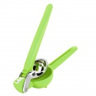 NaChuan HQS-Y13013 Fruit Vegetable Stainless Steel Handheld Juicer Squeezer - Green