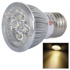 LeXing E27 4W 300lm 4-LED Warm White Light Spotlight (AC 85~265V)