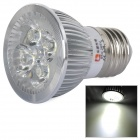 LeXiing E27 4W 300lm 4-LED Cold White Light Spotlight (AC 85 ~ 265V)