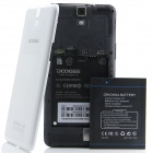 "DOOGEE MAX DG650 MTK6589T Quad-Core Android 4.2.2 WCDMA Bar Phone w/ 6.5"" OGS, NFC, 32GB ROM - White"