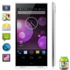 "iNew V3 MTK6582 Quad-core Android 4.2 NFC OTG WCDMA Bar Phone w/ 5.0"", RAM 1GB, ROM 16GB - White"