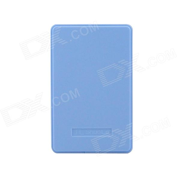 ShuoLe U25Q7sata3.0 USB 3.0 Hard Disk Drive Enclosure for 2.5 SATA HDD - Light Blue (2TB) sata usb 3 0 blue orange hdd case with 250g hard disk heating release rubber case 2 5 fast reading speed case