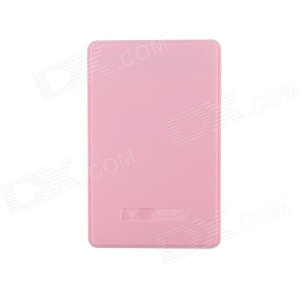 ShuoLe U25Q7sata3.0 USB 3.0 Hard Disk Drive Enclosure for 2.5 SATA HDD - Pink (Max. 2TB) the classic works of charles dickens three landmark novels