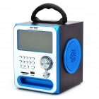 Sast T-83K 10W Handheld Multimedia FM Radio Speaker w/ SD Slot