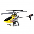 YI ZHAN 58015A 2.4GHz 4-CH R/C Helicopter w/ Gyroscope - Black + Yellow