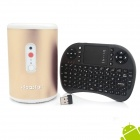 Ideastar N5 Quad-Core Smart TV Box w/ 5.0 MP Camera / Bluetooth / Mic + Mini Keyboard
