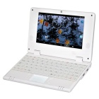 "WM-8880-MID 7.0"" Screen Android 4.2 Netbook w/ Wi-Fi / RJ45 / Camera / HDMI / SD Card Slot - White"