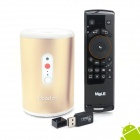 Ideastar N5 Quad-Core-Smart-TV-Box w / 5,0 MP Kamera / Bluetooth / Mic + F10 Air Mouse