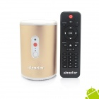 Ideastar N5 Quad-Core Smart TV Box w/ 5.0 MP Camera / Bluetooth / Mic - Gold (EU plug)