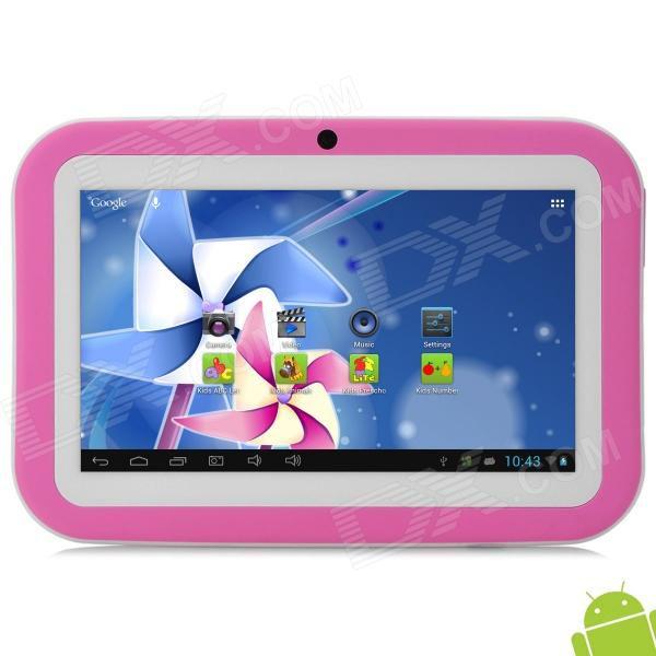 "SW KIDS-M16 7 ""Android 4.1 Tablet PC w / 512MB RAM / 8GB ROM für Kinder - Pink"