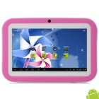 "SW KIDS-M16 7"" Android 4.1 Tablet PC w/ 512MB RAM / 8GB ROM for Kids - Pink"