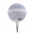 Roundness Style Portable Speaker for Iphone / Samsung / HTC / Motorola / Nokia - White