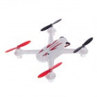 Mould King 2.4G High Speed Four Axial 4-Channel IR Remote Control Aircraft Toy - White + Red