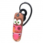 Ounuo Slug Pattern Bluetooth V3.0 Earbud Headset w/ Mic for Iphone 4 / 4s / 5 - Multicolored