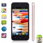 "Xiaocai X800-B Dual Core Android 4.2 WCDMA Bar Telefon w / 4,0 ""IPS-Display, 4 GB ROM - Schwarz + Champagne"