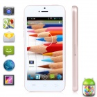 "XIAOCAI X800-W Dual-Core Android 4.2 WCDMA Bar Phone w/ 4.0"" IPS Screen, Wi-Fi, TF, 4GB ROM - White"