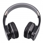 Jolly Roger M1 Stylish Headphone Headset w/ Microphone for PC / Laptop - Black + Silver