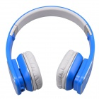 Jolly Roger M1 Stylish Headphone Headset w/ Microphone for PC / Laptop - Blue + Silver