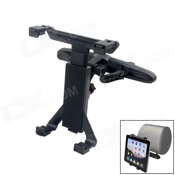 Universal Car Seat Pillow Mount Holder Bracket for Tablet PC - Black