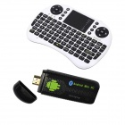 Ourspop U73 + i8 Air Mouse Dual-Core Android 4.2.2 Google TV Dongle w / 1GB RAM / 8GB ROM - US-Stecker
