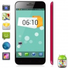 "TIMMY E82 MTK6582 Quad-Core Android 4.2 WCDMA Phone w/ 5.0"" HD, 1GB RAM, 4GB ROM - Black + Deep Pink"
