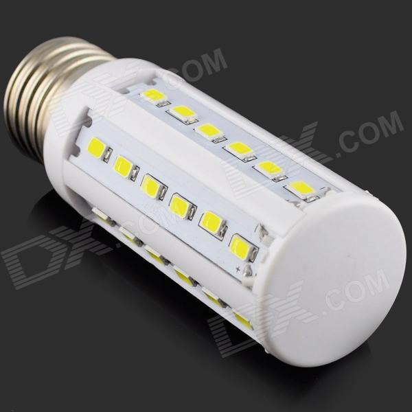 HZLED E27 7W 630lm 6500K 36 x SMD 5730 LED White Light Corn Lamp - (AC 220~240V) lexing lx r7s 2 5w 410lm 7000k 12 5730 smd white light project lamp beige silver ac 85 265v