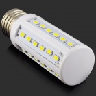 HZLED E27 7W 630lm 6500K 36 x SMD 5730 LED White Light Corn Lamp - (AC 220~240V)