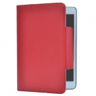 Protective PU Leather Case Cover Stand for Retina Ipad MINI - Red