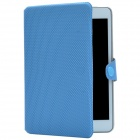 Ball Pattern Protective PU Leather Case Cover Stand for Retina Ipad MINI - Blue