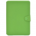 Ball Pattern Protective PU Leather Case Cover Stand for Retina Ipad MINI - Green