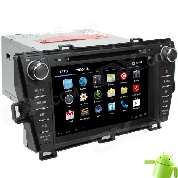 LsqSTAR 8 Android 4.0 Car DVD Player w/ GPS,TV,RDS,Bluetooth,PIP,SWC,Wi-Fi,3DUI,Dual Zone for PRIUS