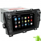 "LsqSTAR 8"" Android 4.0 Car DVD Player w/ GPS,TV,RDS,Bluetooth,PIP,SWC,Wi-Fi,3DUI,Dual Zone for PRIUS"