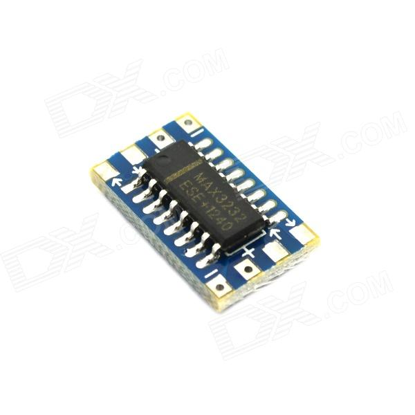 Jtron Mini RS232 MAX3232 Level Turn To TTL Level Converter Board / Serial Port Converter Board