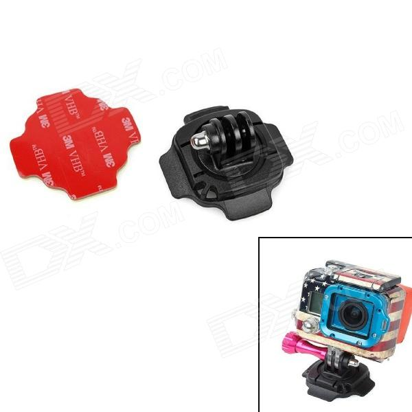 360 Degree Helmet Mount for Gopro Hero 4/ 3+ / 3 / 2 / SJ4000 цена и фото