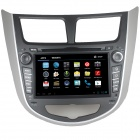 "LsqSTAR 7"" Android 4.0 Car DVD Player w/ GPS, TV, RDS,BT,PIP,SWC,3DUI,Wi-Fi for Verna Accent Solaris"